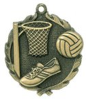 Wreath Netball Medals Basketball Trophy Awards
