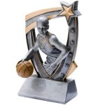 3D Resin F. Basketball Basketball Trophy Awards