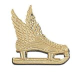 Winged Ice Skate Chenille Pin Chenille Lapel Pins