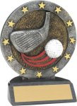All-Star Resin Trophy -Golf Golf Awards