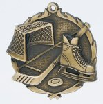 Wreath Ice Hockey Medal Hockey Trophy Awards