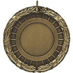 1Ctr Blank Gold Insert Medallion Awards