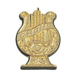 Choir Chenille Pin Music Trophy Awards