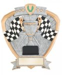 Signature Series Racing Flags Shield Award Racing Trophy Awards
