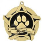 Mascot Super Star Medal  Scholastic Trophy Awards