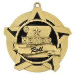 Honor Roll Super Star Medal Scholastic Trophy Awards