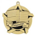 Citizenship Super Star Medal Scholastic Trophy Awards