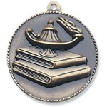 Lamp/Learning Medal Scholastic Trophy Awards