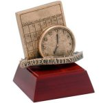 Perfect Attendance Resin Scholastic Trophy Awards