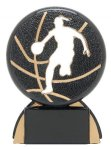 Shadow Sport Female Basketball Shadow Sport Resin Trophy Awards
