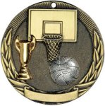 Basketball Tri-Colored Medal Awards