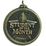Student Of The Month Value Medal Awards