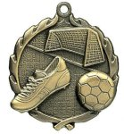 Wreath Soccer Medals Wreath Medal Awards