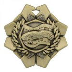Imperial Pinewood Derby Medals Wreath Medal Awards