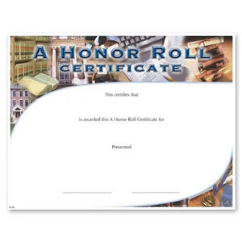 It's just an image of Free Printable Honor Roll Certificates with classroom award